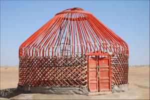Uzbek yurt frame